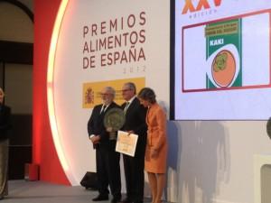 Entrega del Premio a la mejor Industria Agroalimentaria